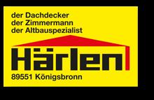 Härlen | Zimmere Meister aus Königsbronn seit 1927 Tradition mit modernem Know-How Logo